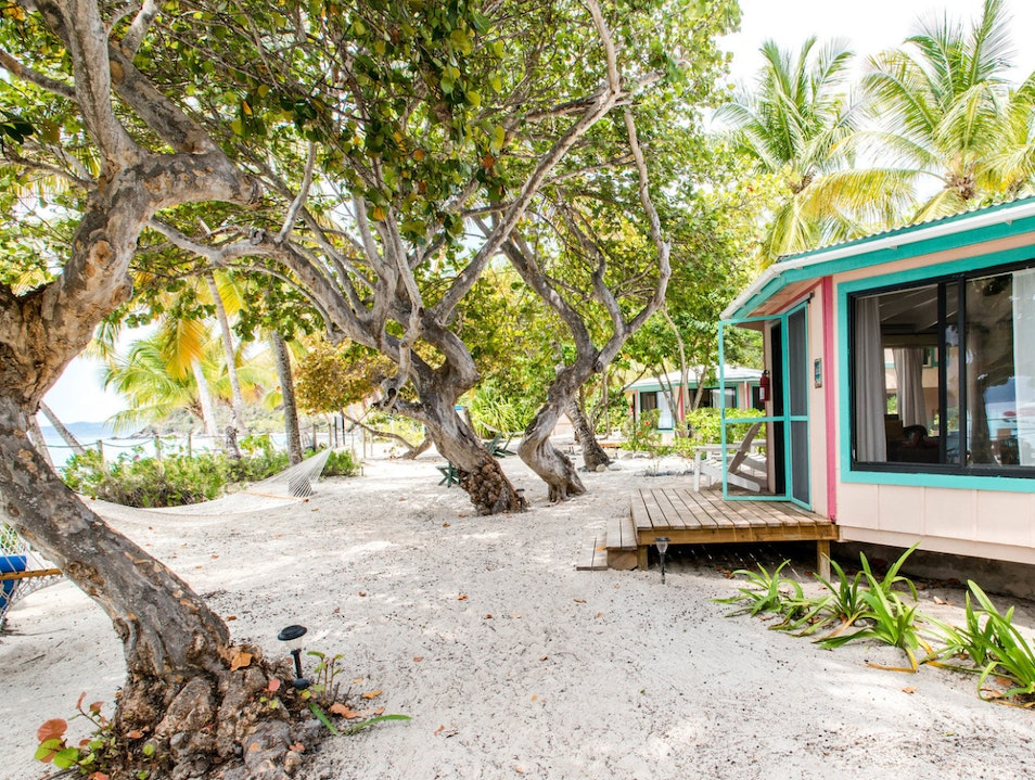 Seek Shelter at the Sandcastle Hotel Jost Van Dyke  British Virgin Islands