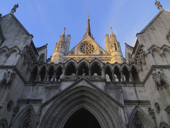 Gothic Architecture at the Royal Courts of Justice