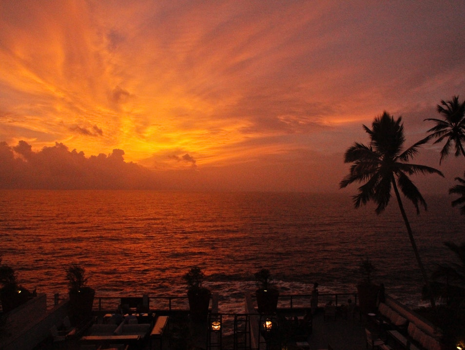 Sparkling Sunsets and Lavish Liquids  Thiruvananthapuram  India