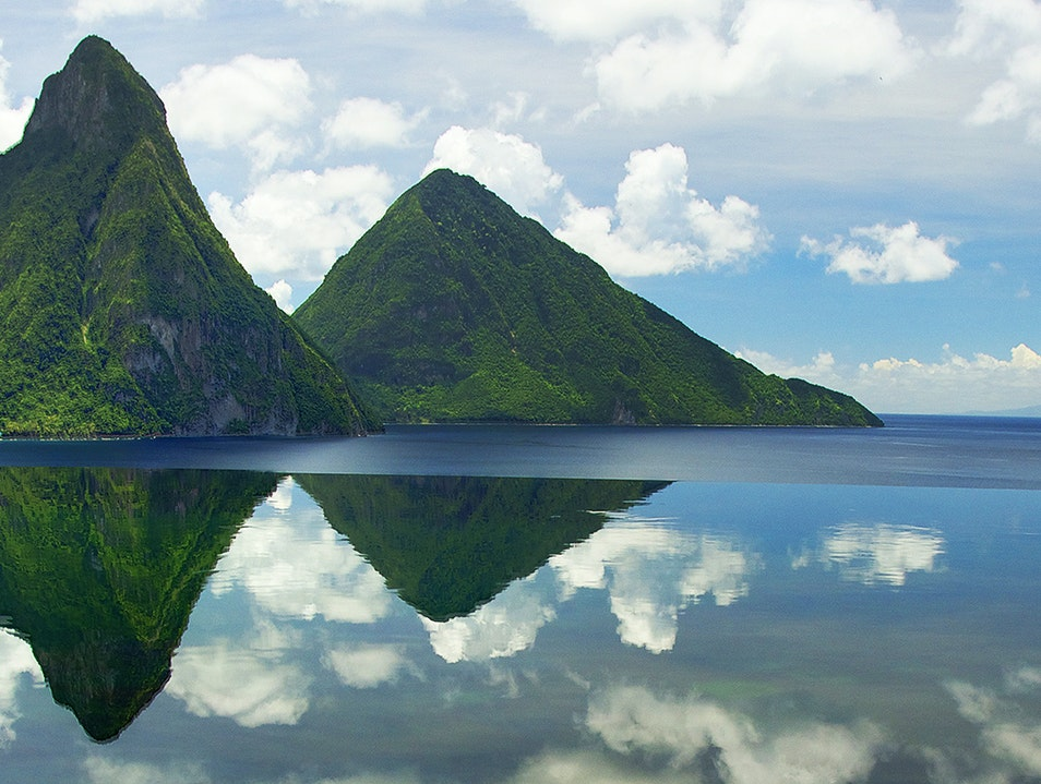 The Pitons Belle Vue  Saint Lucia