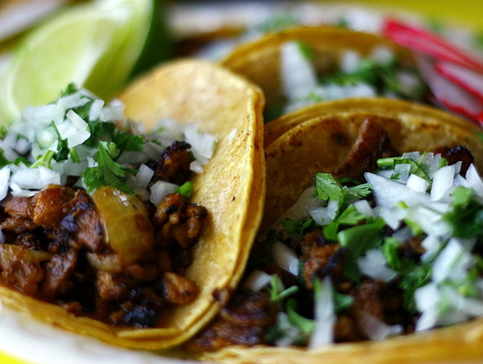 Tacos al Pastor in New York at Empellon al Pastor New York New York United States