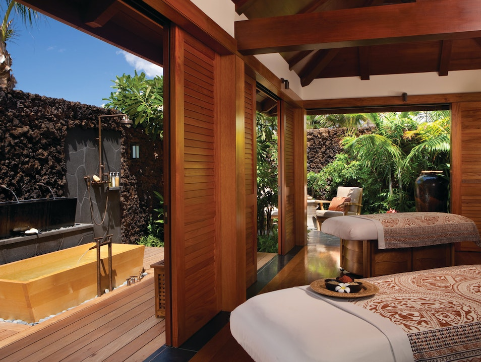 Custom Spa Treatments at Four Seasons Hualalai Kailua Kona Hawaii United States