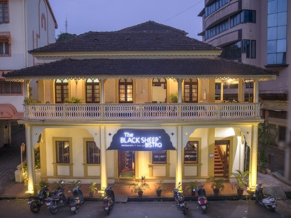 The Black Sheep Bistro Panjim  India