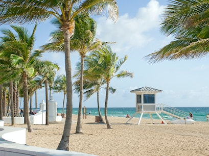 Fort Lauderdale Beach Fort Lauderdale Florida United States