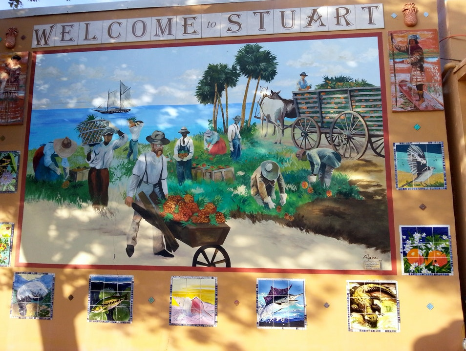 A History of Stuart In Pictures