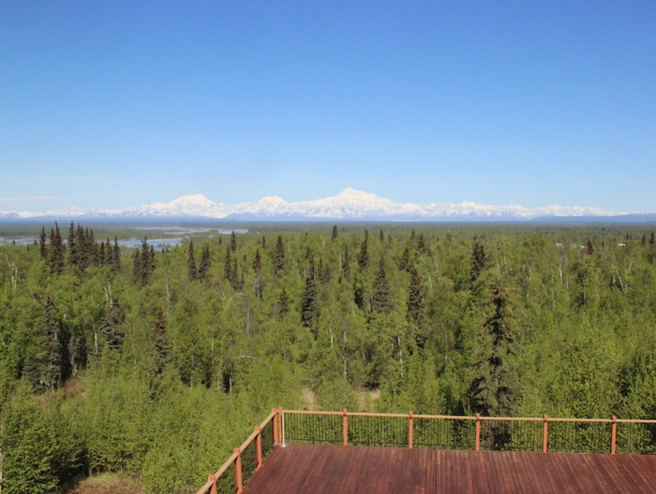 Sweeping Views of Denali Talkeetna Alaska United States