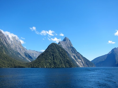 Mitre Peak Cruises Milford Sound  New Zealand