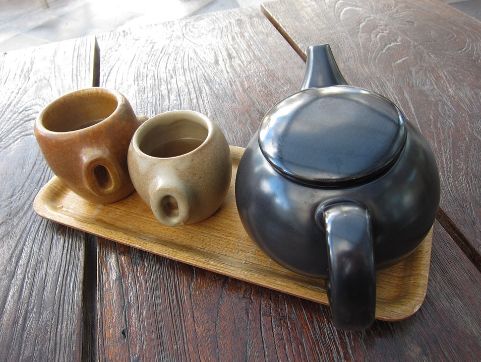Relax Over a Cup of Tea at Samovar