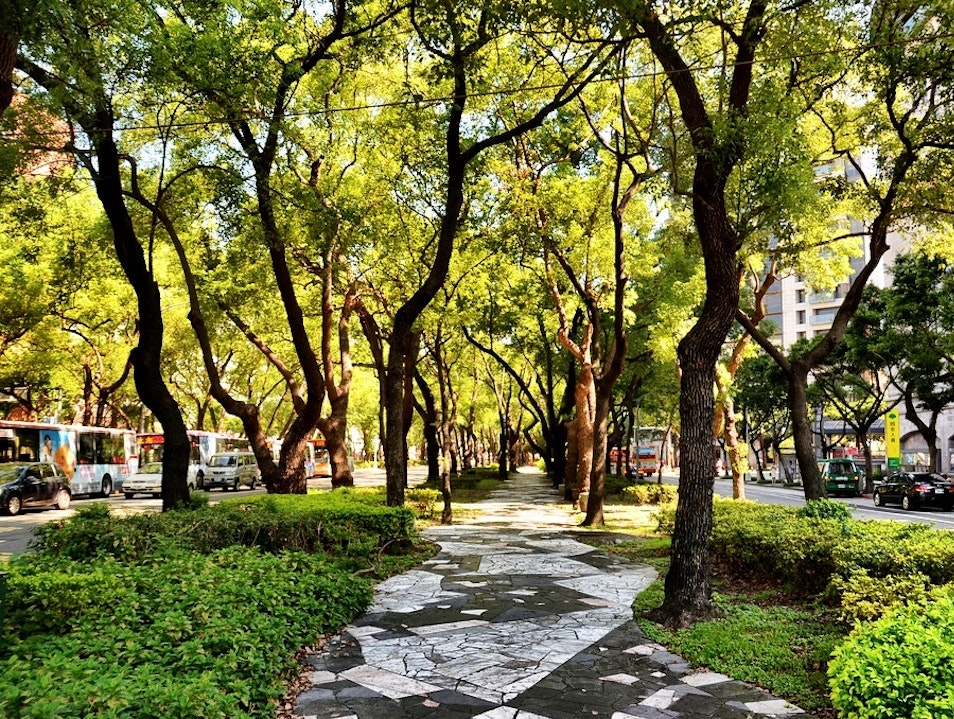 Breath of Fresh Air in the Heart of Taipei Taipei  Taiwan