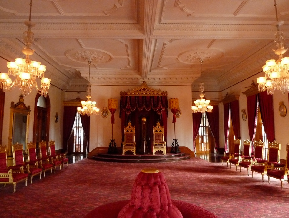 The Only Royal Palace in America Honolulu Hawaii United States