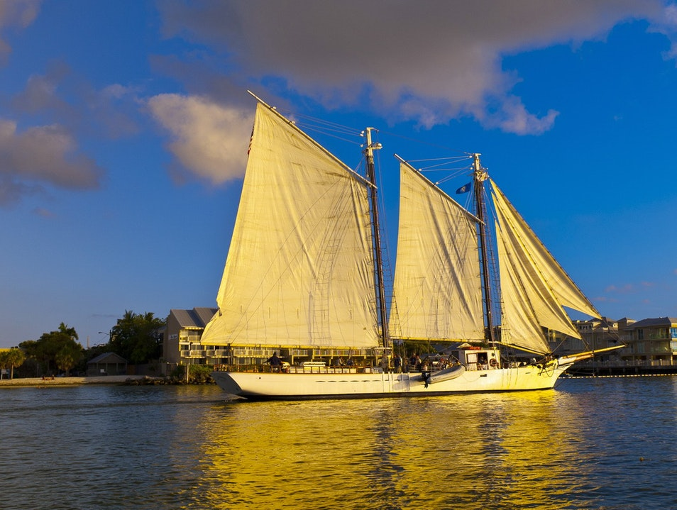 Sunset Sail Key West Florida United States