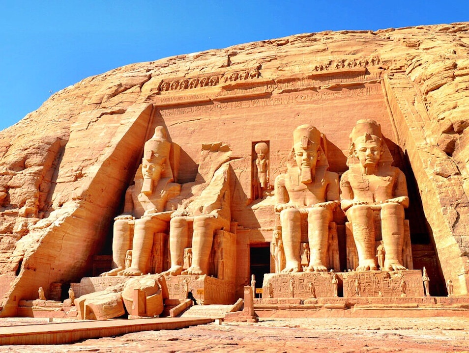 Discovering the World's Greatest Temple at Abu Simbel Aswan  Egypt