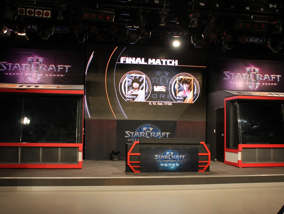 Starcraft Showdown Seoul  South Korea