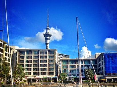 Waitemata Harbour Auckland  New Zealand