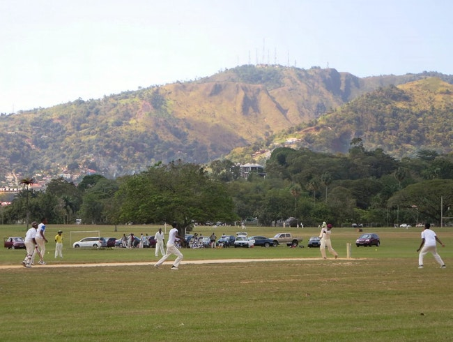 Watch Cricket at Queen's Park in Trinidad