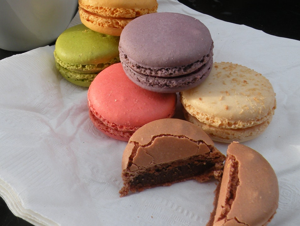 Best macaroons this side of the pond. Santa Barbara California United States