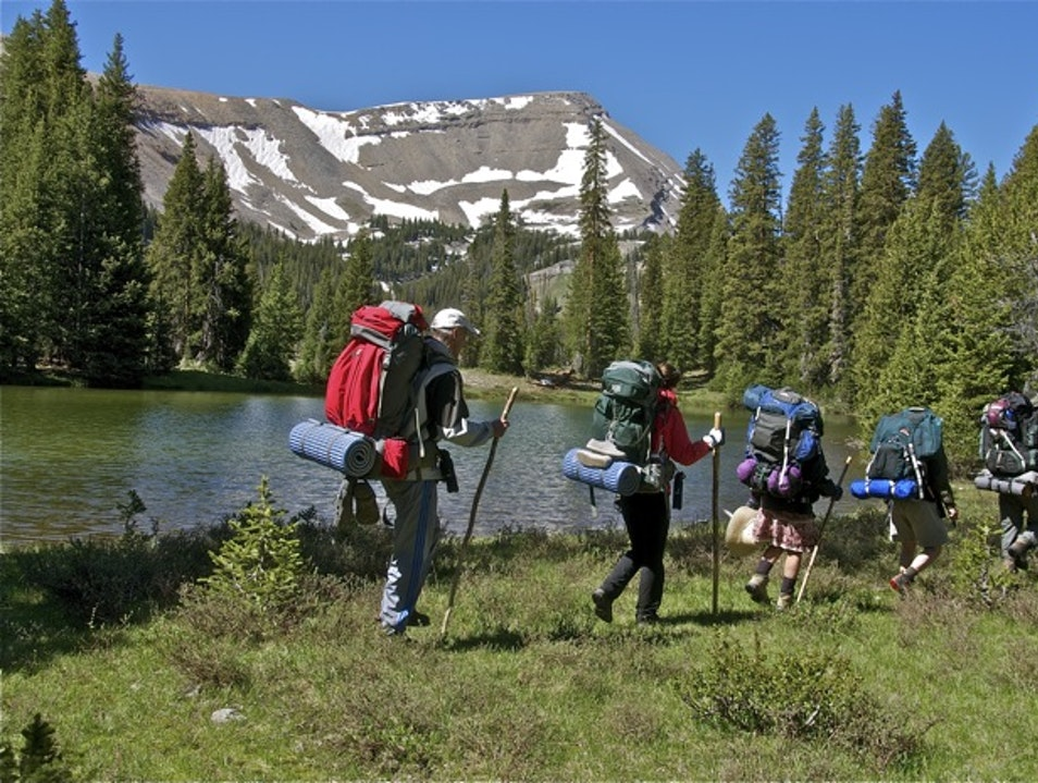 Yellowstone backpacking and hiking trips