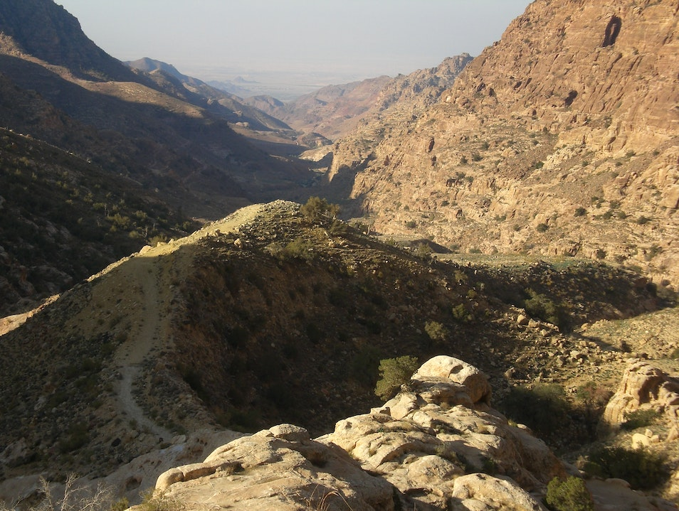 Hike the Wadi Dana Trail  Ma'an Governorate  Jordan
