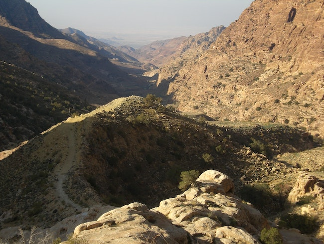 Hike the Wadi Dana Trail