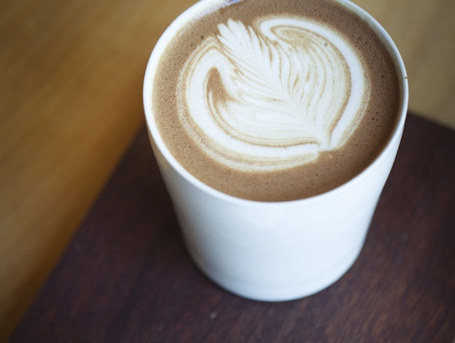 Enjoy an Aztec Mocha at Flying Goat Coffee