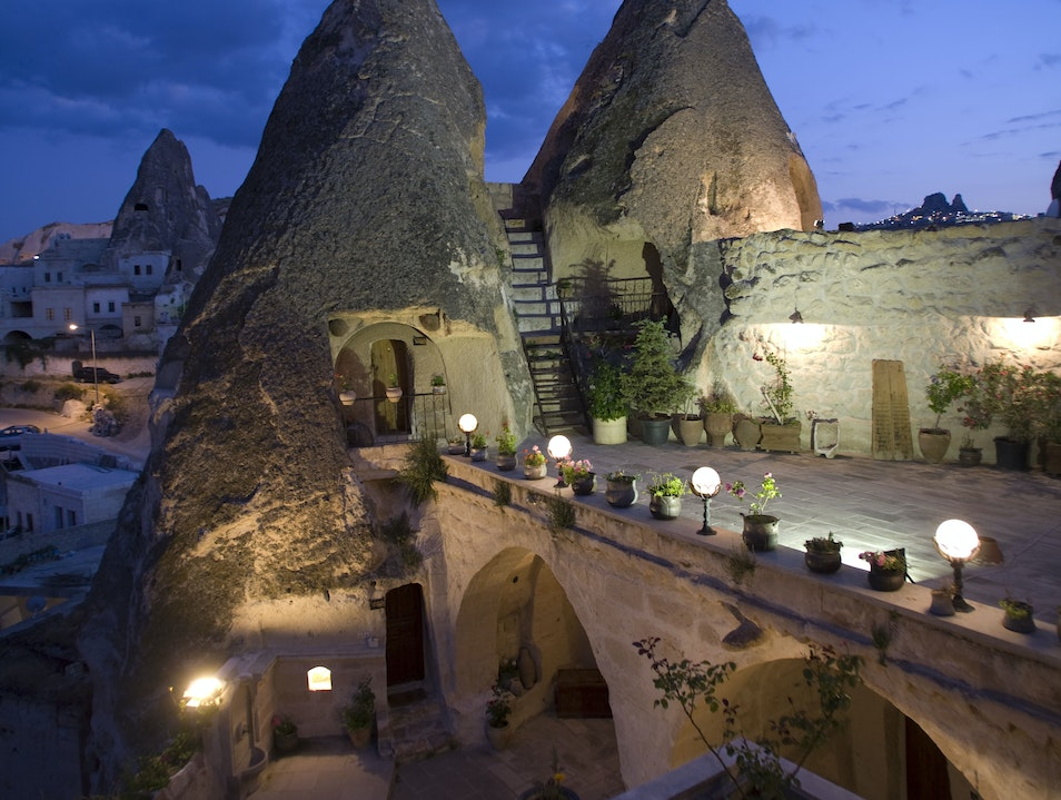 Explore a Turkish Cave of Wonders Hotel
