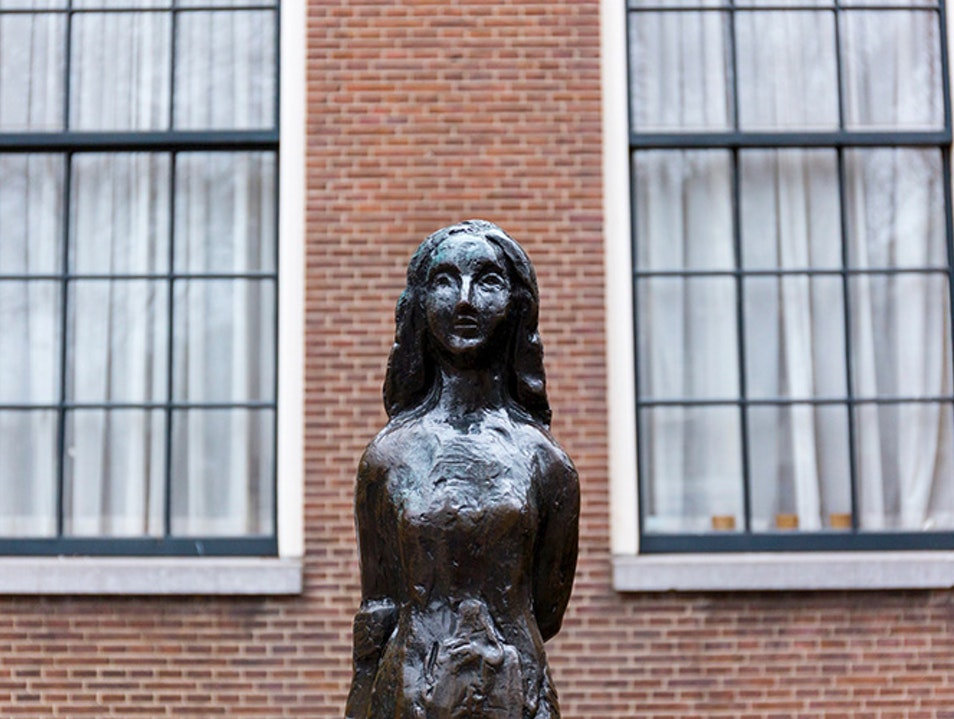 Anne Frank House Amsterdam  The Netherlands