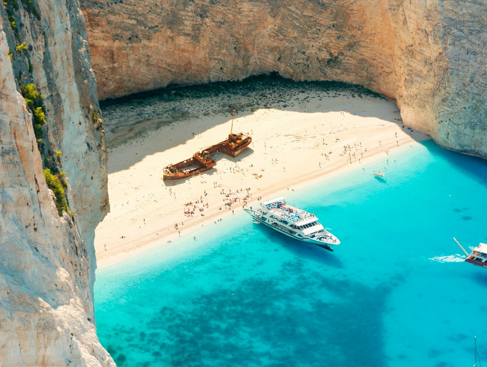 Navagio (Shipwreck) Beach  Zakinthos  Greece