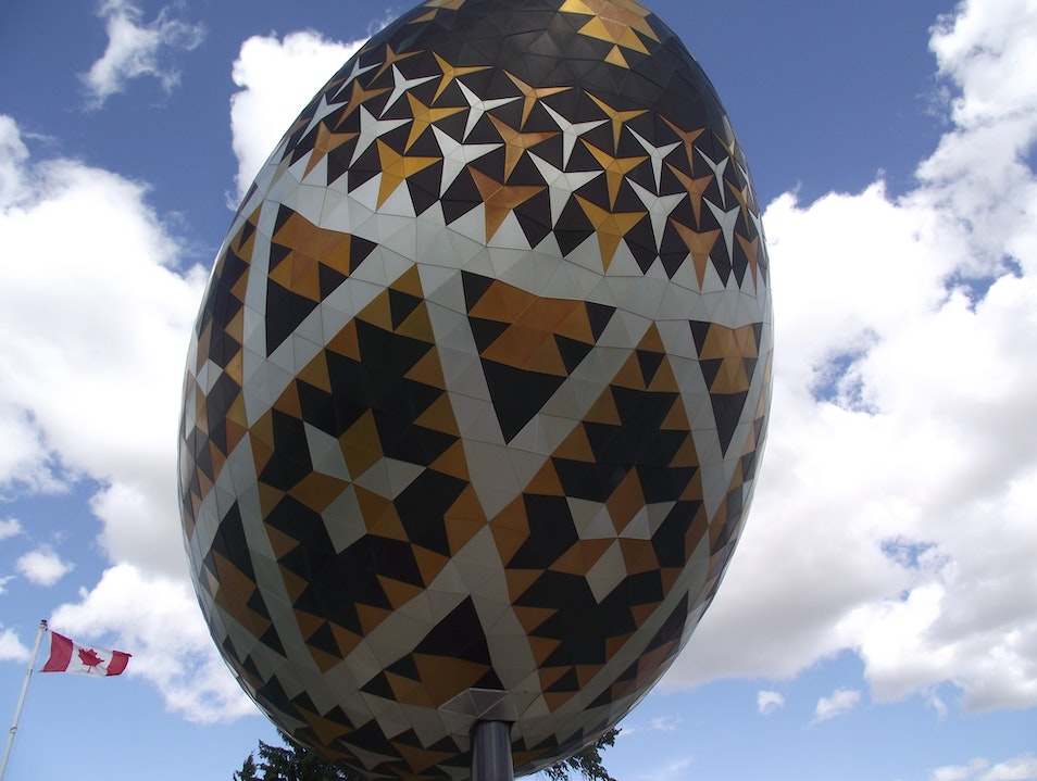 The World's Largest Ukrainian Easter Egg (Psyanka)