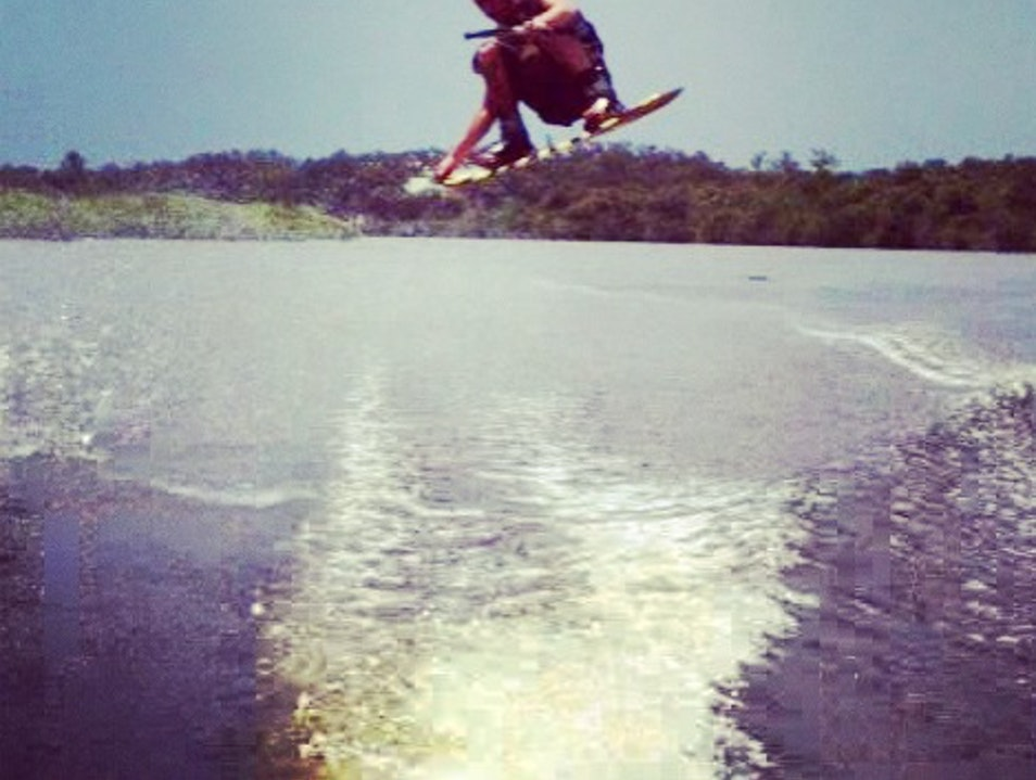 Wakeboard on the Butler Chain