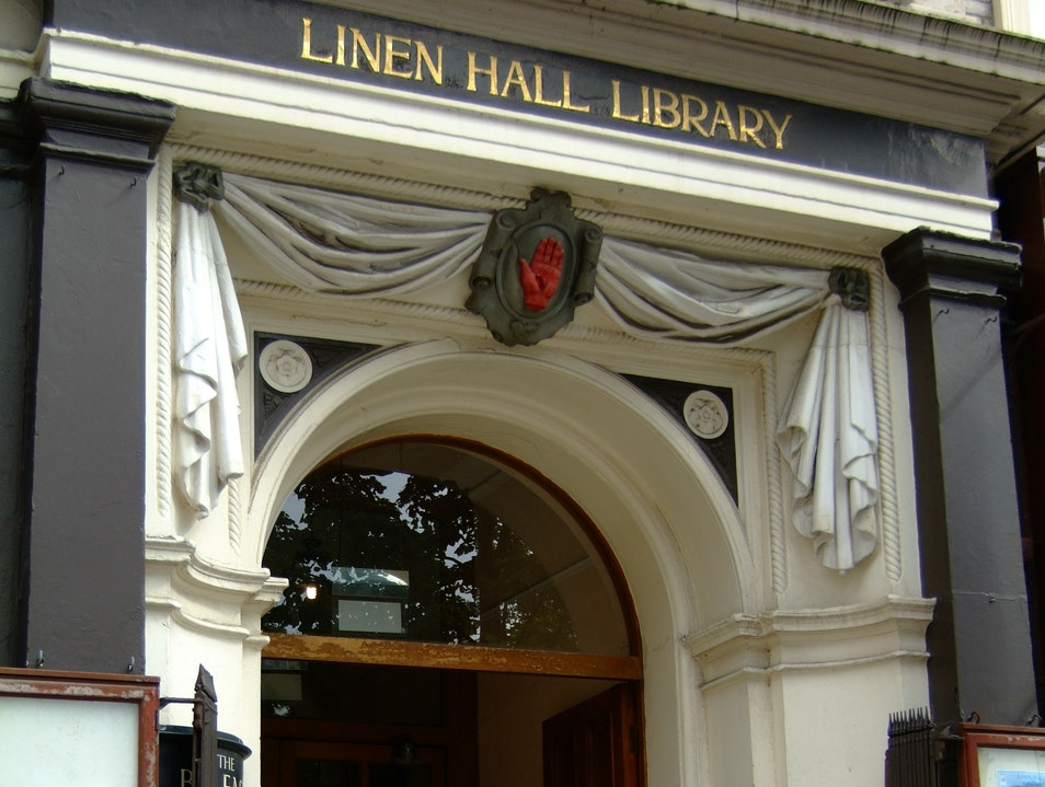 A Library with Cafe and Exhibits Belfast  United Kingdom