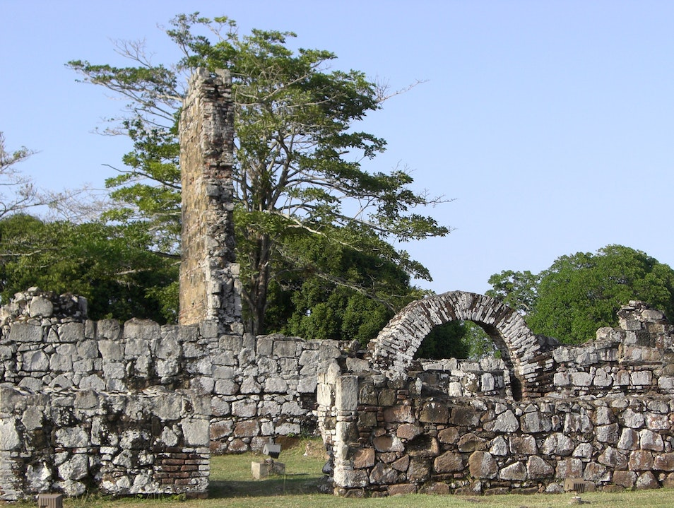 Ruins at Panama Viejo