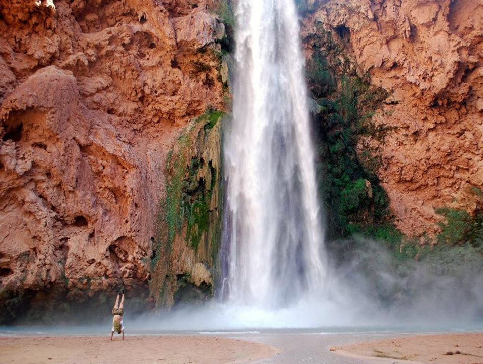 Desert Bliss at Havasu Falls Supai Arizona United States