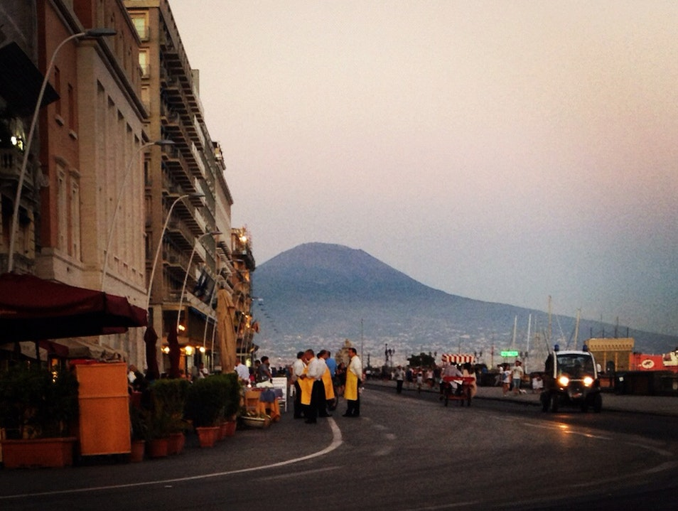 Enjoy The Pedestrian-Only Via Caracciolo Naples  Italy