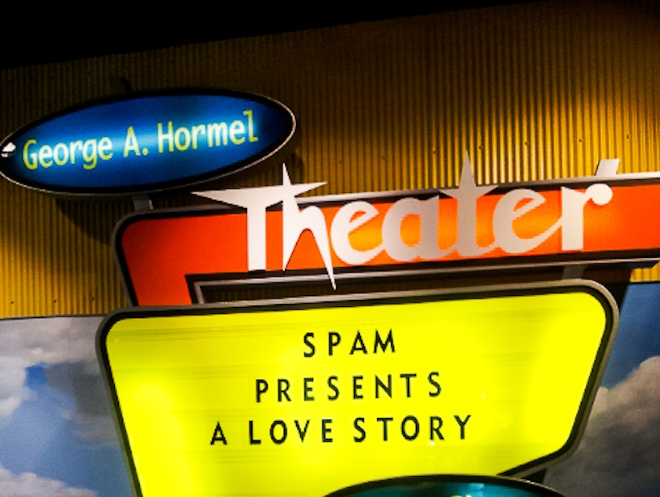 Fetch a Spamburger, SPAM Museum, Austin, Minnesota .  Austin Minnesota United States