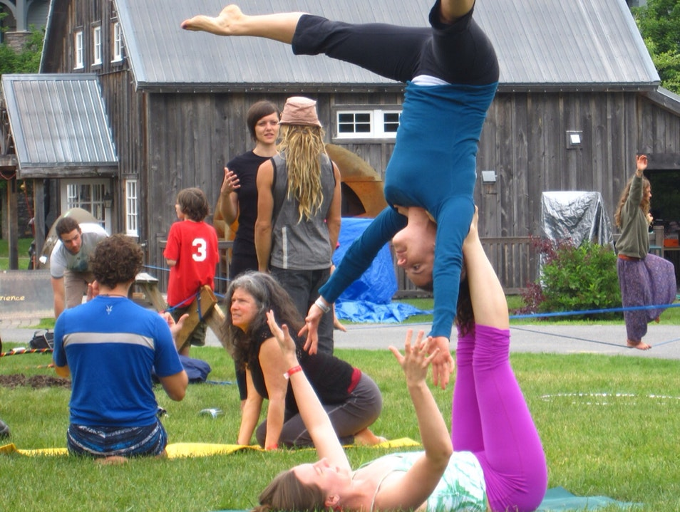 WANDERLUST YOGA FESTIVAL IN VT Stratton Vermont United States