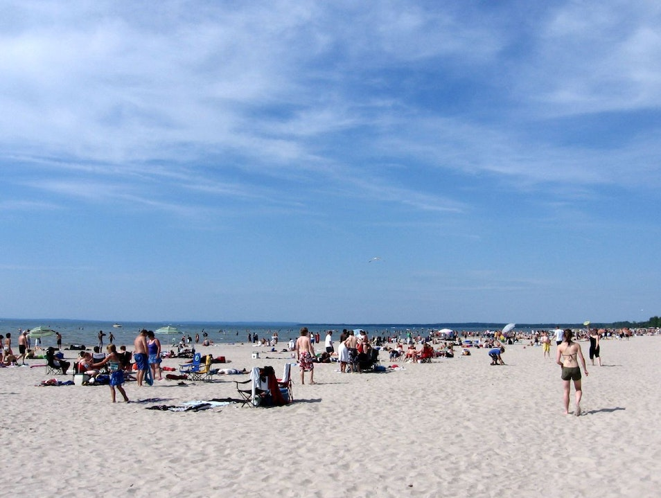 Spend a Day at the Beach Wasaga Beach  Canada