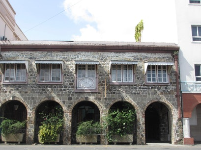 Bay Street Arches Kingstown  Saint Vincent and the Grenadines