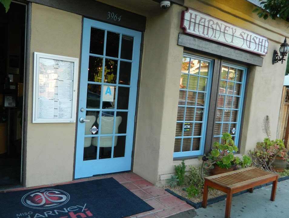 San Diego's only sustainable seafood sushi restaurant
