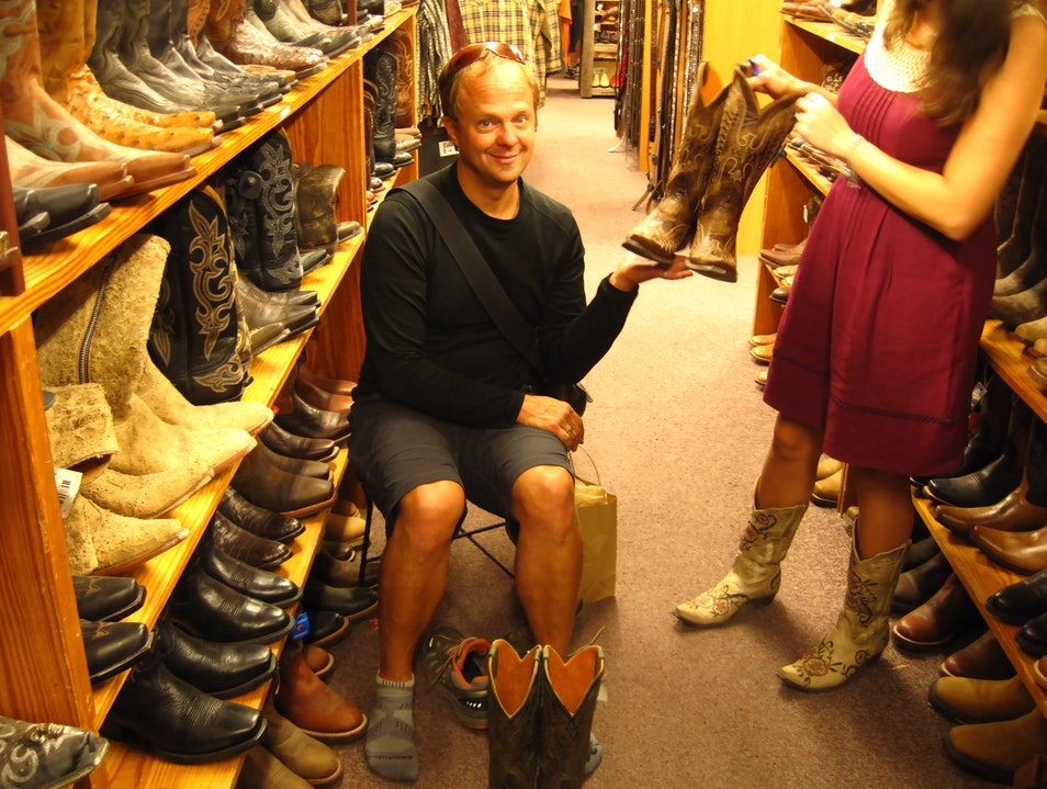 Scoot on Over to Allens Boots