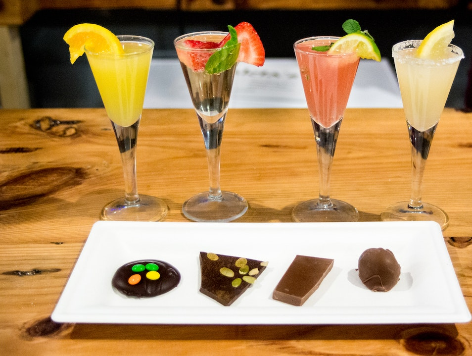 Chocolates and Mimosas at The Source at Factory No. 2 Corning New York United States