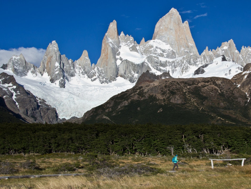 Day hike to the base of Mt. Fitzroy  El Chaltén  Argentina