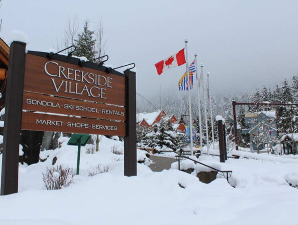 The Convenience of Creekside Whistler  Canada