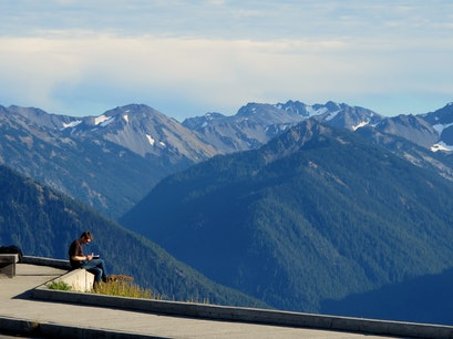 Hurricane Ridge, Olympic National Park Visitor Center Port Angeles Washington United States