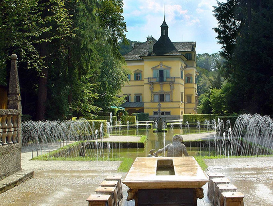 Hellbrunn Palace & Trick Fountains