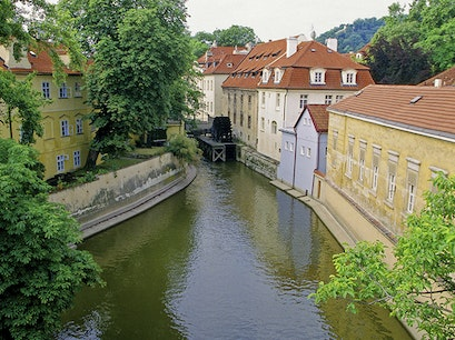 Kampa Island Prague  Czechia