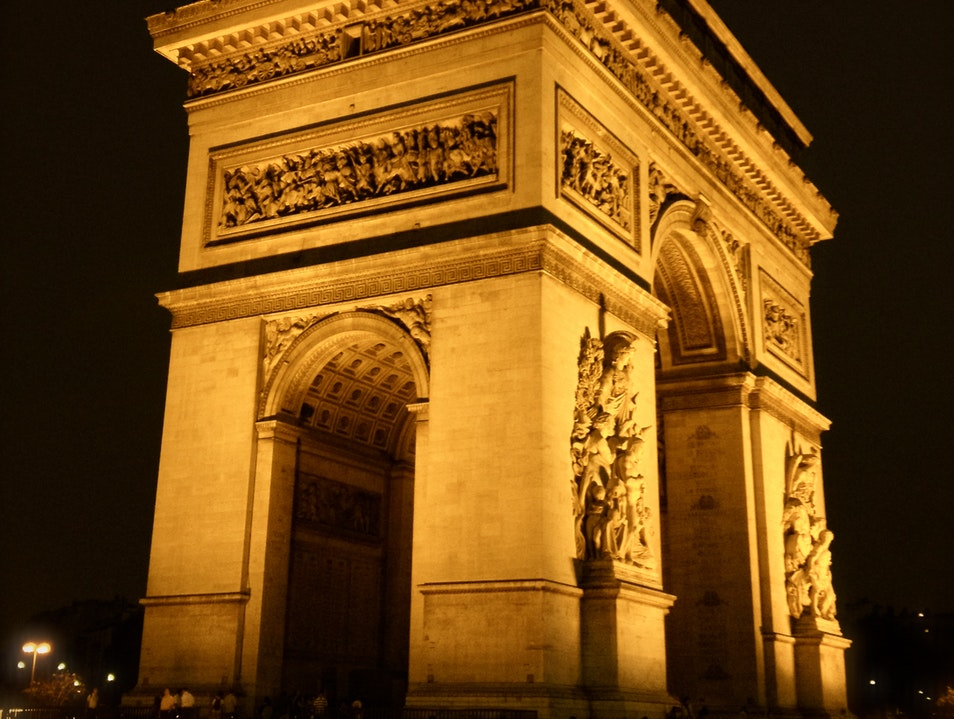 Parisian Perspectives: Arc de Triomphe Paris  France