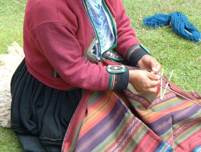 Woman from Chinchero Weaving Collective