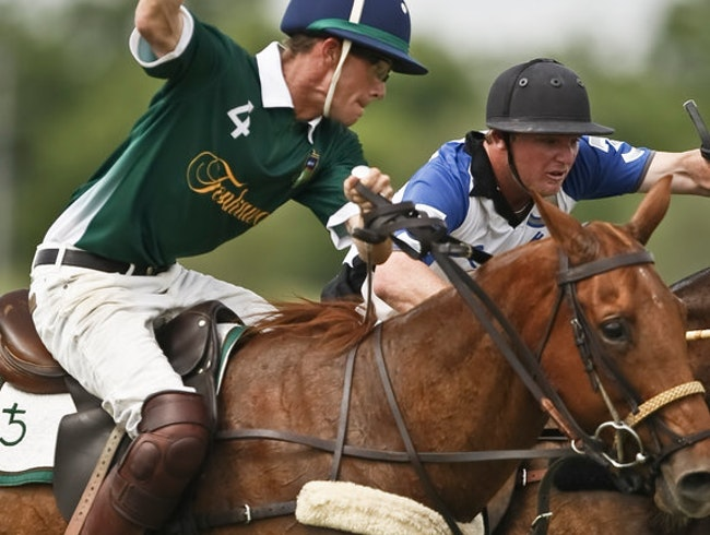 See a Sunday Polo Tournament