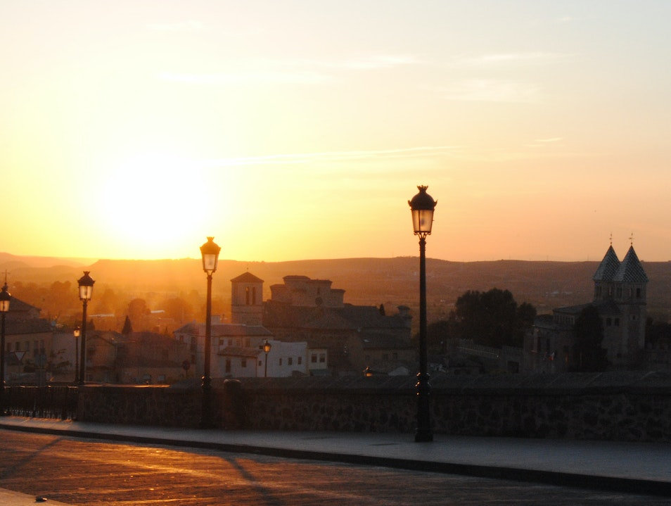 Sunset in Castile–La Mancha Toledo  Spain