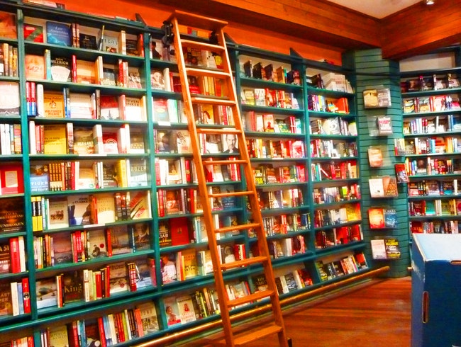 Book lover's Paradise